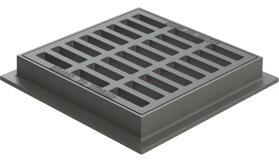 Catch Basin Grates Available In Square Round