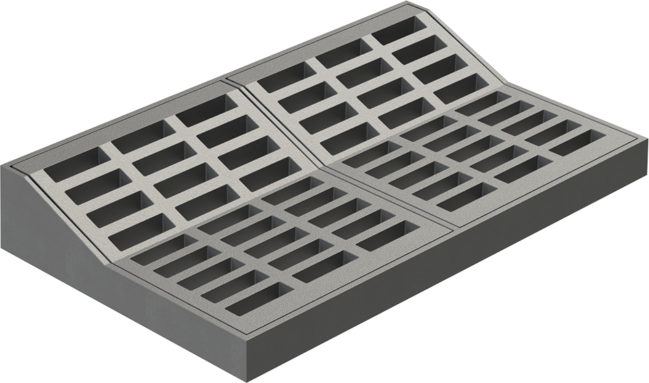 Steel Catch Basin Grates